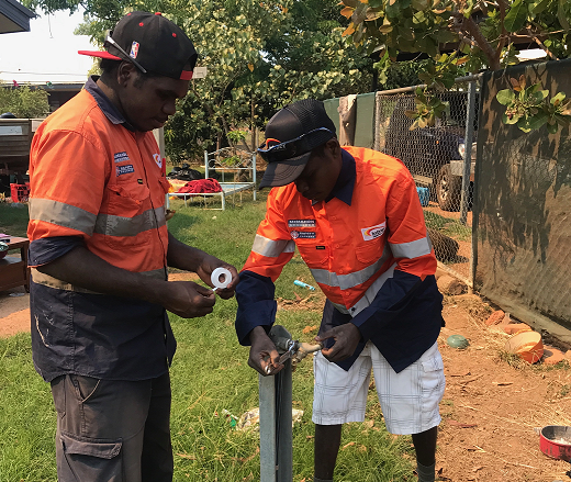 Real jobs and training opportunities for locals in the NT