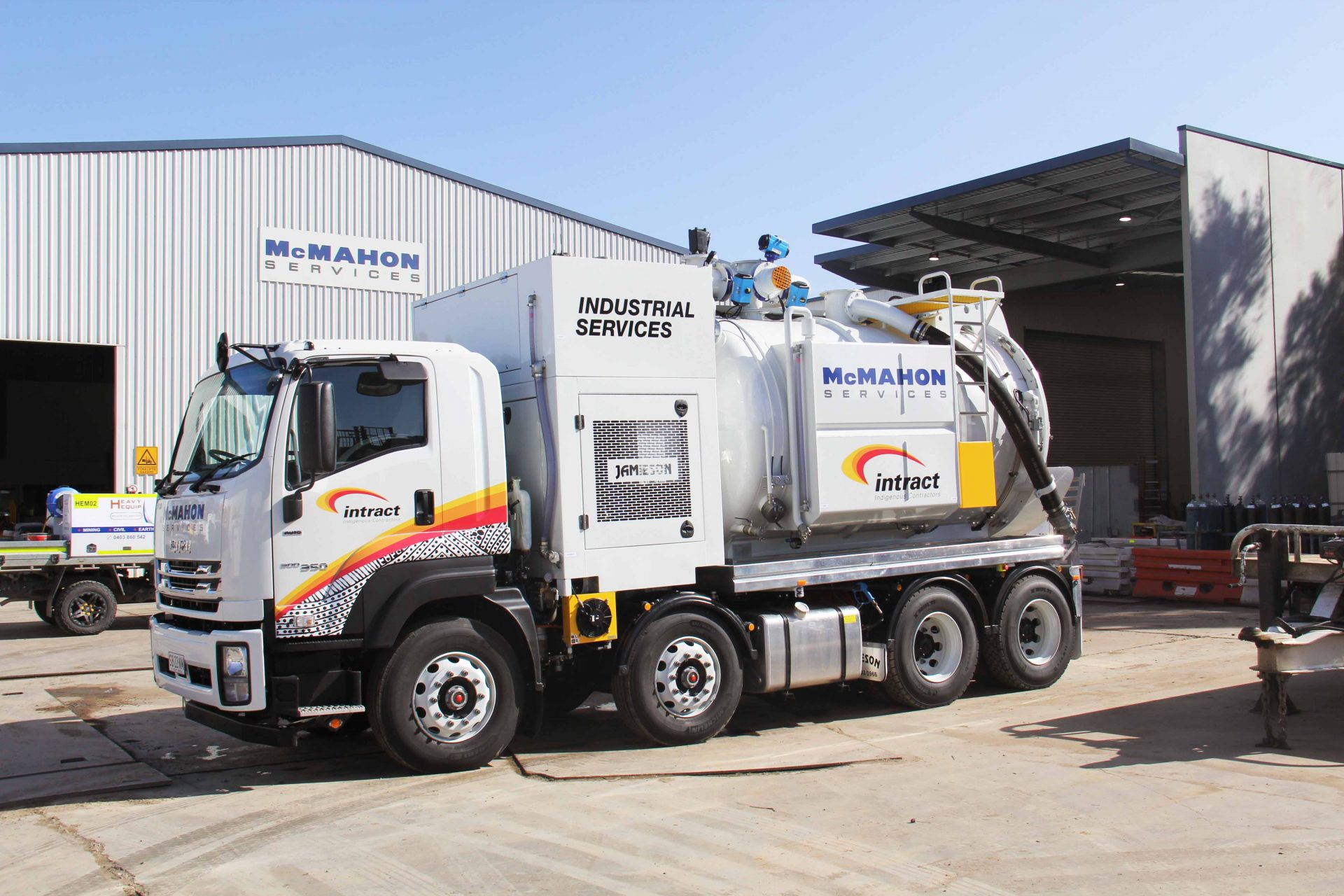 A Jamieson Combo Vac Trucks Joins The Intract Fleet