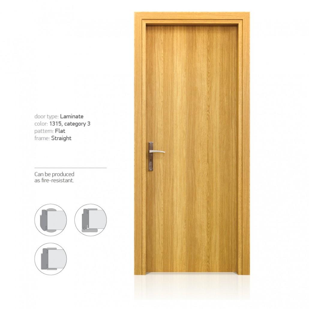 Laminate Intradoor Interior Door Industry έ
