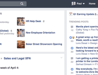 Workplace by Facebook: Apps, Bots and Integrations