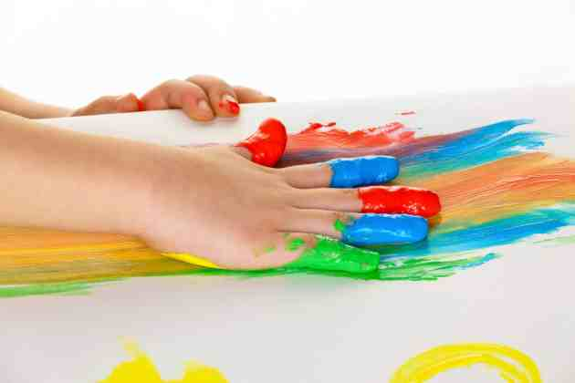 Play Therapy paint
