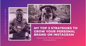 Grow personal brand on instagram