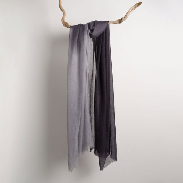 Composition Intreccio Scarf BIcolor Grey