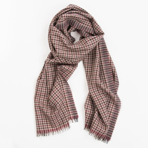 Scarf Sporty Chic Cashmere - Bordeaux