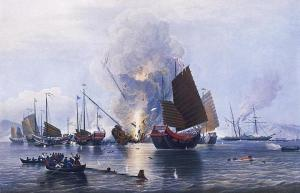 The first and second Opium Wars