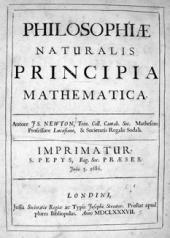 NEWTON Cover Principia Mathematica