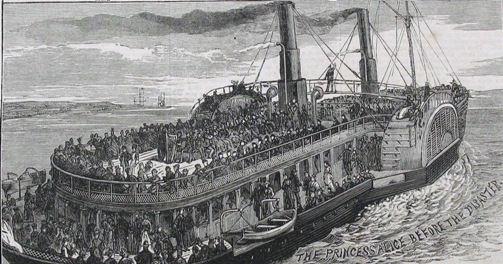 Passenger Ship SS Princess Alice