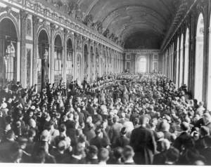 Versailles Paris Peace conference view