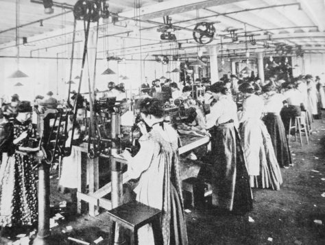 Working women in the Edwardian era