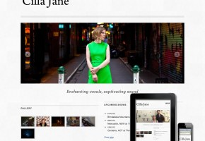 Cilla Jane website is responsive
