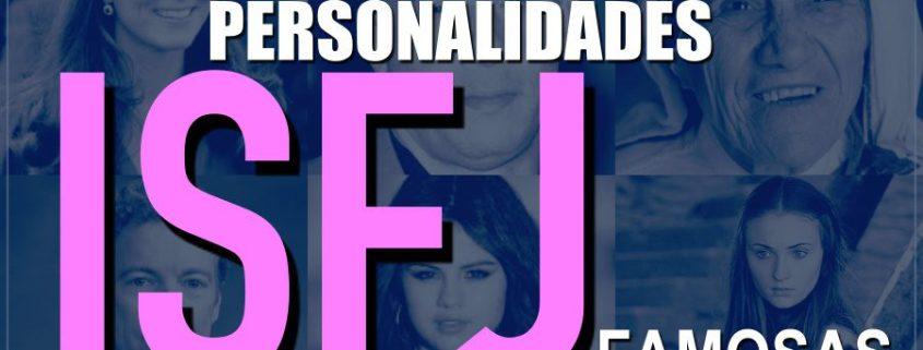 Lista de pessoas famosas com personalidade ISFJ