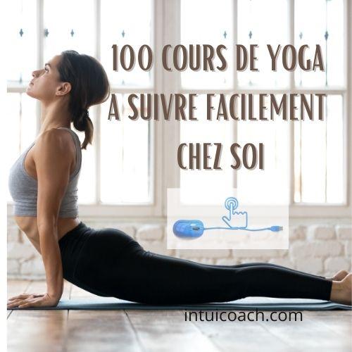 100 cours de yoga à suivre à domicile