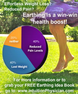 Earthing for ideal body weight