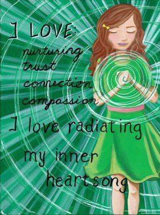green chakra heart