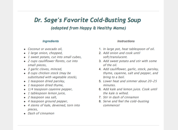 Cold-Busting Soup