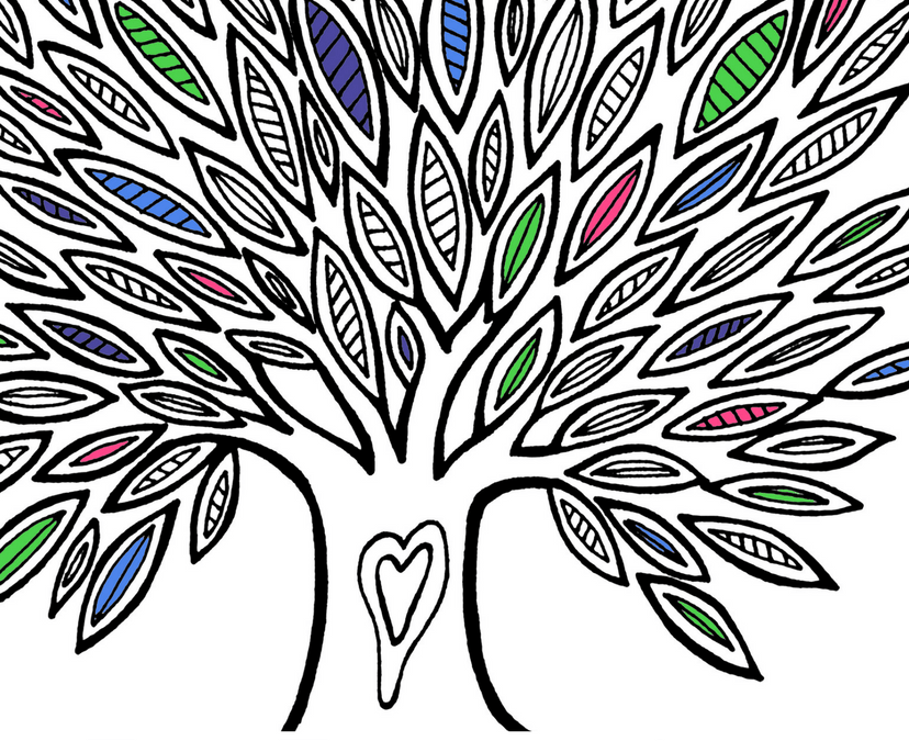 The Tree of Life Coloring Book – It's Here!