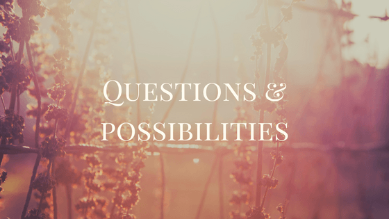Questions, possibilities, and the future of Intuitive and Spiritual