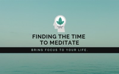 How to find the time to meditate