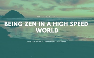 Being zen in a high speed world