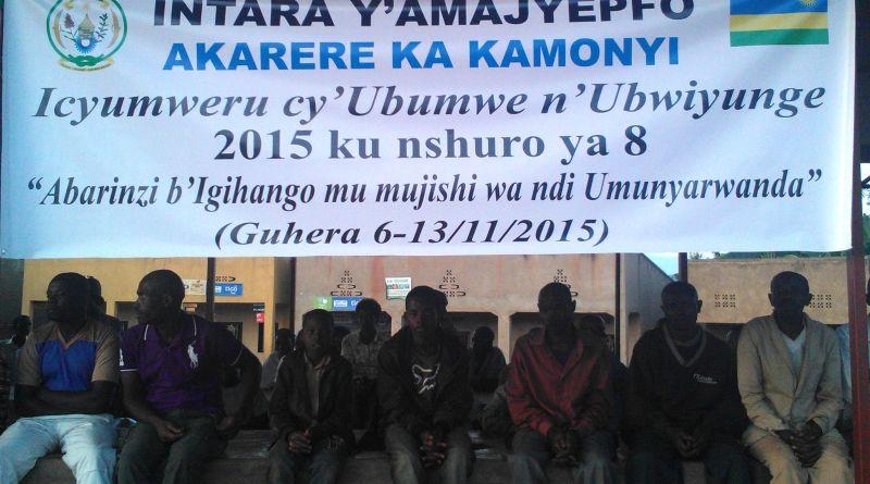 Ifoto Ubumwe n'ubwiyunge Kamonyi
