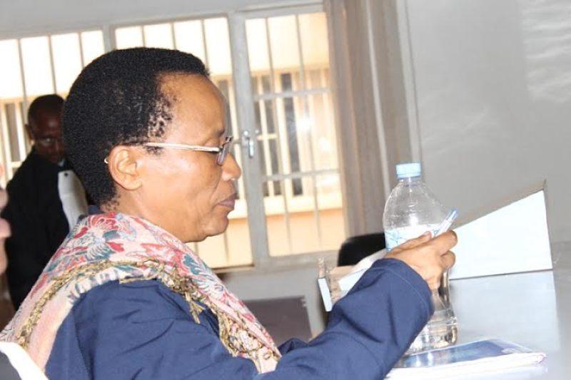 Dr Rose Mukankomeje murukiko.