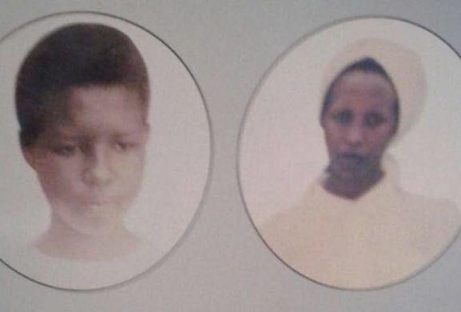 Umubyeyi Mukankusi Consolata hamwe n'umwana we Muretatete Jeanette bazize Jenoside yakorewe abatutsi mu 1994.