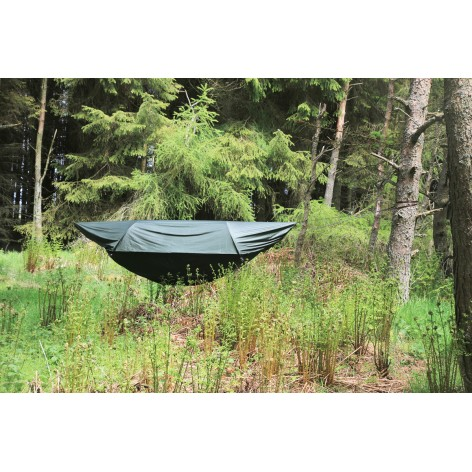 Hamac moustiquaire avec abri DD Hammock Total hamac jungle superlight