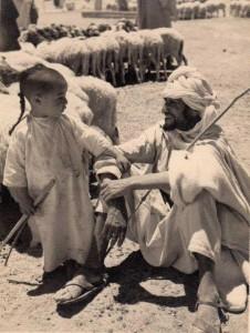 طفل شاوي مع أبيه، قصة شعر هارقوشت