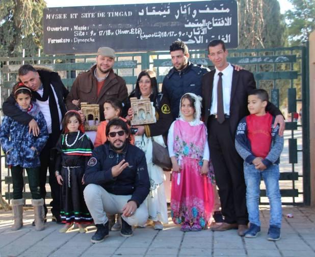 صورة جماعية بعد إختتام التظاهرة