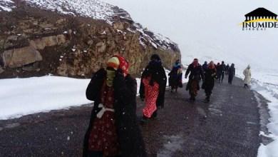Photo de Maroc : les montagnardes de l'Atlas et de l'Assamer abandonnés