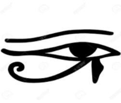 L'œil égyptien ''oudjat''