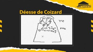 Déesse de Coizard », dessin du baron de Baye Reproduit in Gorce