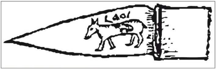 Figure 3. Tagmarin, la jument, (d'après Antonin Morlet)