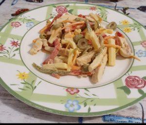 Insalata di pollo alla senape