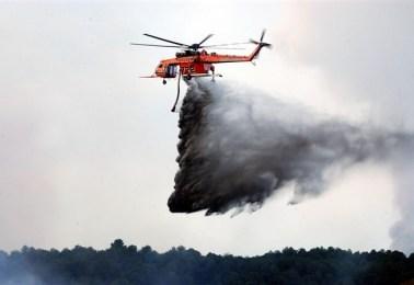 Elicotteri antincendio della Regione siciliana: servizio dimezzato e costi raddoppiati