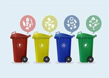 Raccolta differenziata dei rifiuti: in un mese al 50%. Possibile? La proposta di due società