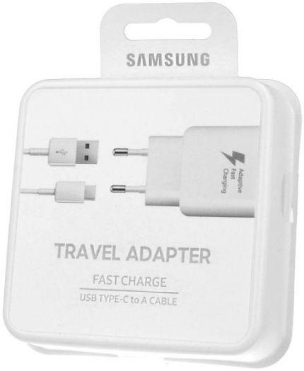 Cargador y cable Micro USB 1.5 mts. Samsung original. Foto de la caja