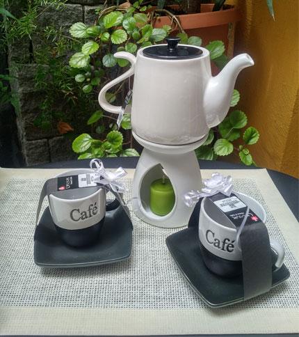Juego de cafe 7 piezas - Modelo 2 - Foto