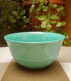 Foto 1 - bowl de ceramica color verde agua