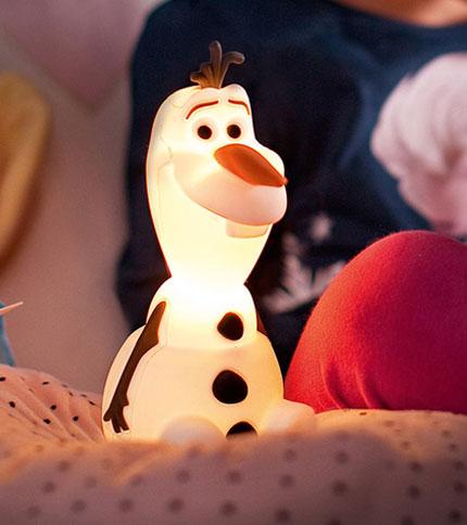 Frozen LámparaVeladora A Softpal OLAF Philips Pila 8ywOPvmNn0