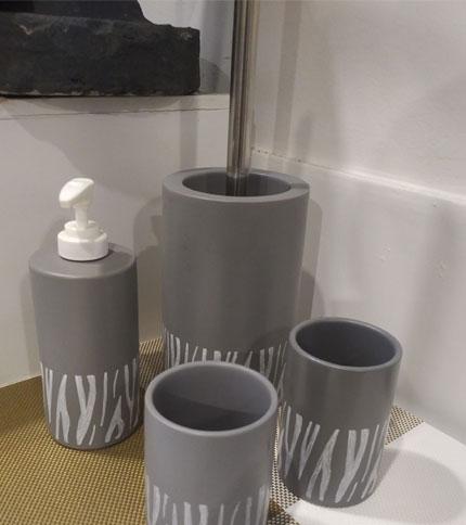 Foto 1 - set 4 piezas para baño