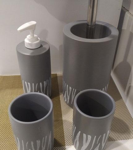 Foto 2 - set 4 piezas para baño