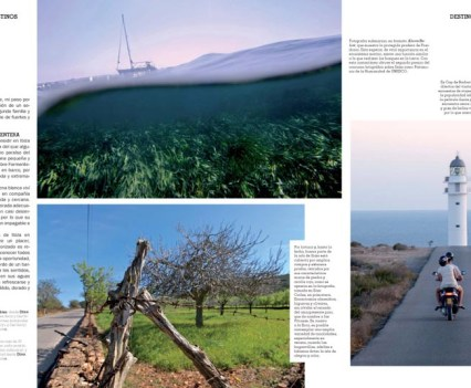 "Baleària Magazine / Spain Summer 2011 ""Recuerdos de las Pitiusas"" 8 Page Reportage about my personal view of Ibiza and Formentera"