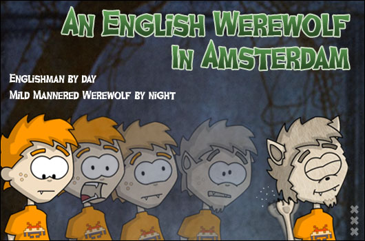 Halloween in Holland English Werewolf