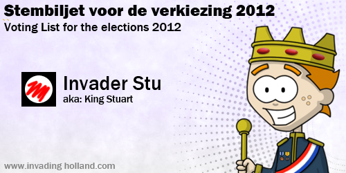 Voting Card 2012
