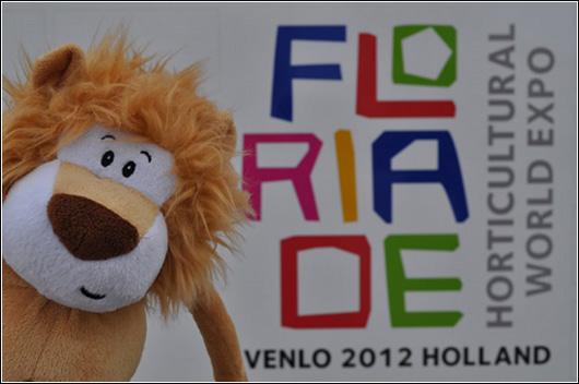 Alex at Floriade 1