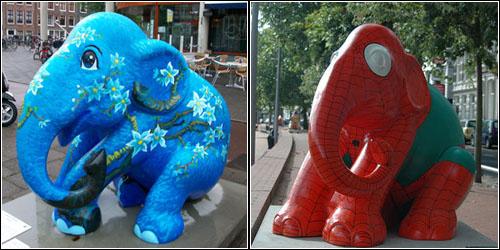 Elephants in Amsterdam 2