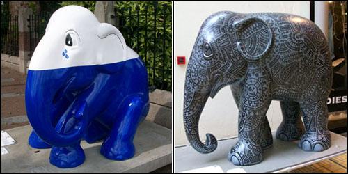 Elephants in Amsterdam 6