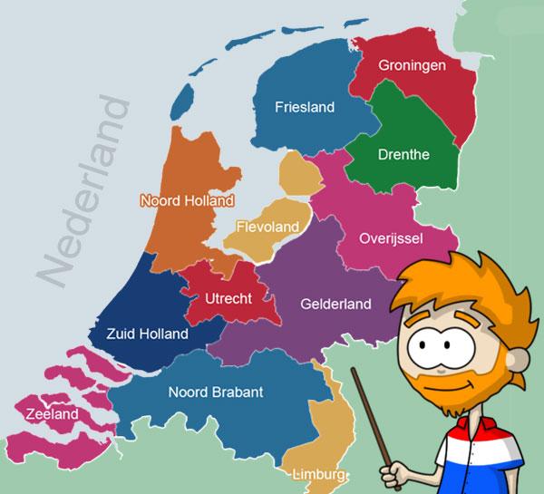 Holland vs The Netherlands Invading Holland