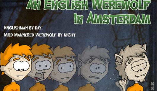 Halloween in Holland English Werewolf